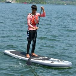 Goplus 10' Inflatable Outdoor Sport Stand Up Paddle Board 22