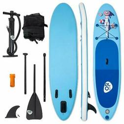goplus 10 inflatable stand up paddle board