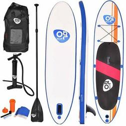 Goplus 10' Inflatable Standup Board with Adjustable Paddle