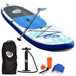 Goplus 11' Inflatable Stand Up Paddle Board SUP w/ Fin Adjus
