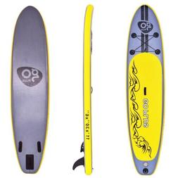 Goplus 11' Stable Inflatable Stand Up Sport Surfing Paddle B