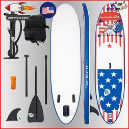 HIGH QUALITY 11' Stand Up Inflatable Paddle Board With Acces