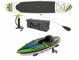 Bestway Hydro Force Wave Stand Up Paddle Board & Intex 1-Per