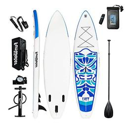 """FunWater Inflatable 10'6×33""""×6"""" Ultra-Light  SUP for All S"""