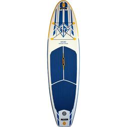 Scott Burke Inflatable 10 Ft Stand-up Paddle Board Vector Wh
