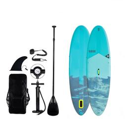 """Inflatable 10' SUP Paddle Board 6"""" Thick With Pump Intermedi"""