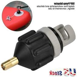 Inflatable Boat Pump Valve Adapter Air Paddle Board Accessor