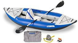 Sea Eagle 300x Inflatable Explorer Kayak Deluxe Package