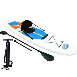 Inflatable Kayak 1 Person SUP Kit Best Lightweight With Acce