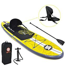 Zray Inflatable Paddle Board Stand Up SUP Comes with Adjusta