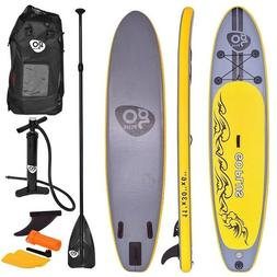 Inflatable Paddle Board Set Stand Up SUP 11' Surf 3 Fin Wate
