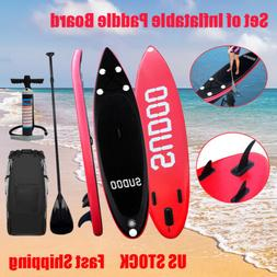 Inflatable Paddle Board SUP 3m Stand up Surfboard Complete K