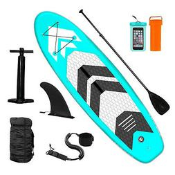 Inflatable Paddle Board SUP Stand Up Paddle Board 6 inches T