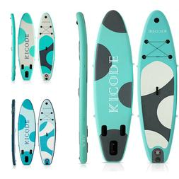 """Inflatable Paddle Board SUP Surfboard 6"""" Thick Premium + Acc"""