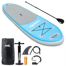 UBOWAY Inflatable Stand Up Paddle Board 6'' Thick with Adjus