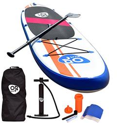 Goplus 10' Inflatable  Stand Up Paddle Board Package w/ Fin