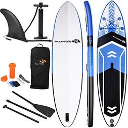 Goplus 10.5' Inflatable Stand Up Paddle Board SUP Cruiser wi