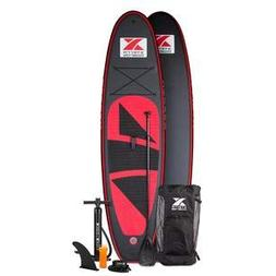 XTERRA Inflatable 10' Stand Up Paddle Board Premium SUP Bund