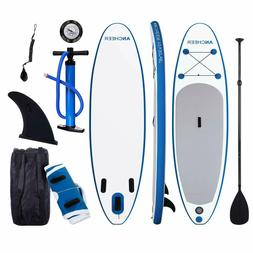 ANCHEER Inflatable Stand Up Paddle Board 10', Non-Slip Deck,