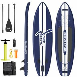 Inflatable Stand Up Paddle Board 11ft Non-slip Deck Paddlebo
