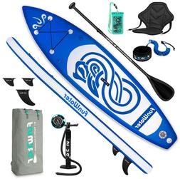 Inflatable Stand Up Paddle Board 10ft SUP Surfboard with com