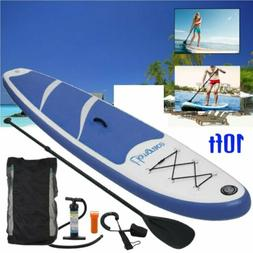 Inflatable Stand Up Paddle Board 10FT Universal SUP Wide Sta