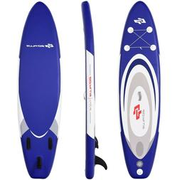 Goplus Inflatable Stand Up Paddle Board 11 Feet Adjustable B