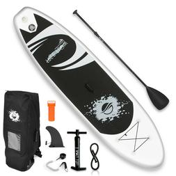 Serene-Life SLSUPB08 11 FT Inflatable Stand Up Paddle Board
