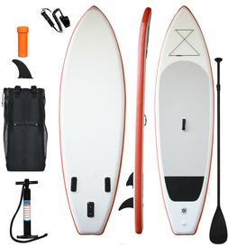 "inflatable stand up paddle board 11'long 33""width 6""thicknes"