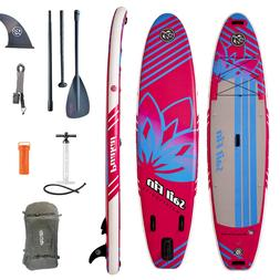 Inflatable Stand Up Paddle Board 11' SUP Kit  - 1-Year Limit