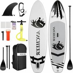 Inflatable Stand Up Paddle Board 4 Inches w/ One-Way Sup Ded