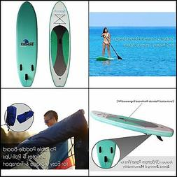 "SereneLife Inflatable Stand Up Paddle Board 6 "" Thick Univer"