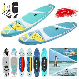 Inflatable Stand Up Paddle Board 6Inches w/ One-Way Sup Dedi
