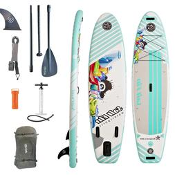 Inflatable Stand Up Paddle Board 9'9 SUP Kit  -  1-Year Limi