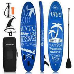 Inflatable Stand Up Paddle Board Adjustable SUP Outdoor Lake