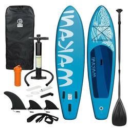 ECD Inflatable Stand Up Paddle Board - Premium SUP Accessori