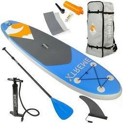 XtremepowerUS Inflatable Stand Up Paddle Board Set,Adjustabl