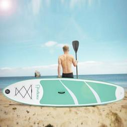 "Inflatable Stand up Paddle Board SUP Double 2 Layers 10"" Pad"