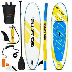 Inflatable Stand Up Paddle Surf Board SUP Package Fins Paddl