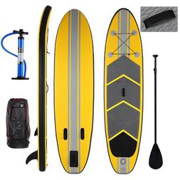 Inflatable Stand Up Paddleboarding Paddle Board w/ Paddle an