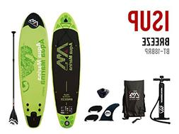 """Inflatable SUP Stand Up Paddle Board and 3PC w/ Paddle 9' 9"""""""