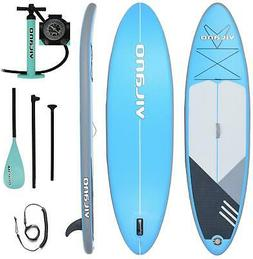 Inflatable SUP Stand Up Paddle Board 10 Ft L with Fin Pump P