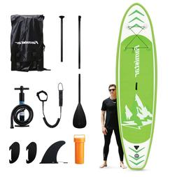 """Famistar Inflatable SUP Stand Up Paddle Board, 12'X30""""x6"""" wi"""