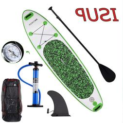 ANCHEER Inflatable SUP Stand Up Paddle Board, Paddle, Pump &