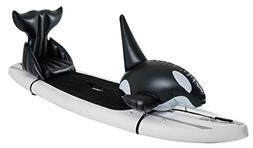 Stand Up Floats Inflatable Toy Orca and seat Easily attaches