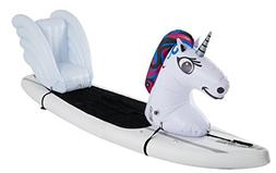 Stand Up Floats Inflatable Toy Unicorn and seat easily attac