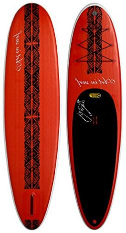 "Art in Surf Insup Paddle Board, Red, 10'6"" x 33"" x 6""/325 L"