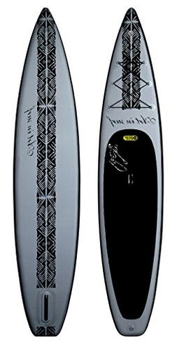 "Art in Surf Insup Touring Paddle Board, Grey, 12'6"" x 32"" x"