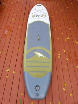 ISLE Surf and SUP PEAK Inflatable 10'6 Stand Up Paddle Board