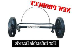 ISUP INFLATABLE paddle board carrier SUP Wheels Evolution  X